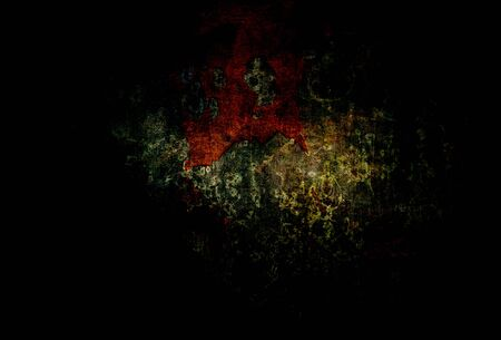 Black dark scary abstract background eroded grunge metal structure