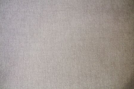 Natural linen fabric texture background canvas with fibers blank