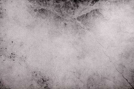 Black and white grunge texture of canvas with dirty stains blank fabric background
