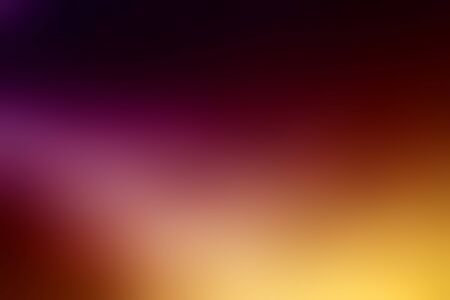 Blurred gradient background in purple, red, yellow, violet and black color