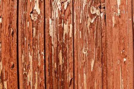 Rustic weathered wood background with knots vertical wooden boards