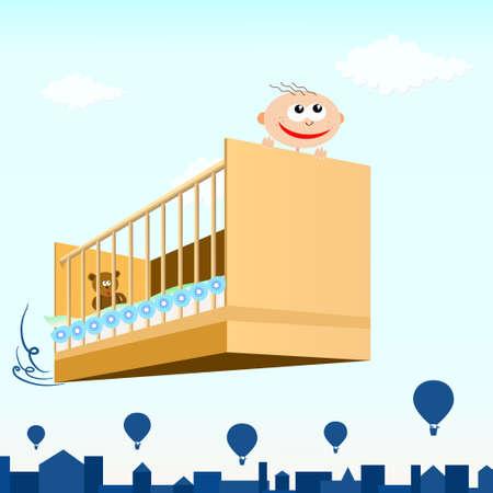 bebe cuna: Volar con una cuna de beb�