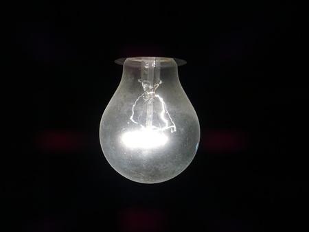 incandescent: Incandescent bulb