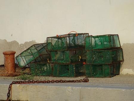 crustaceans: Traps for crustaceans