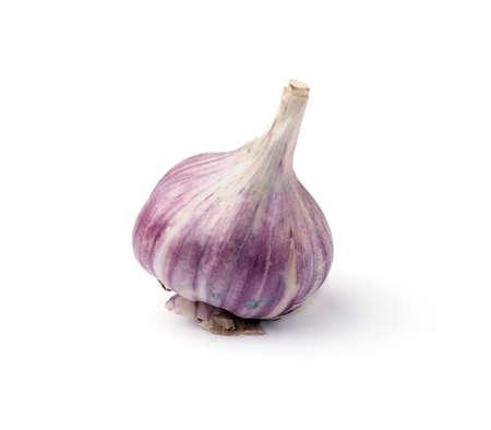 Garlic bulb isolated on white background Stock Photo