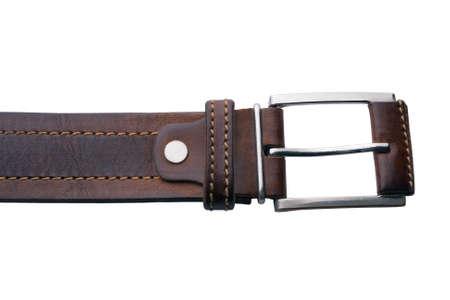 Belt isolated on the white background Stock Photo