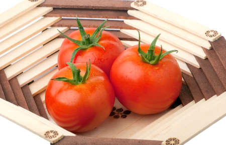 red tomatoes in vase