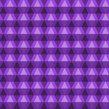 seamless abstract pattern of purple rhombus. Vector image