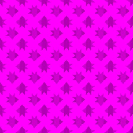 Seamless abstract arrow pattern on pink background. Vector image Stock Illustratie