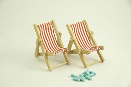 not to forget: Do not forget your medication when going on holidays. Stock Photo