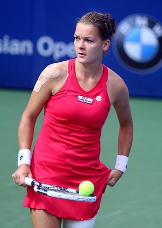 Agnieszka Radwanska  Poland at BMW Malaysia Open