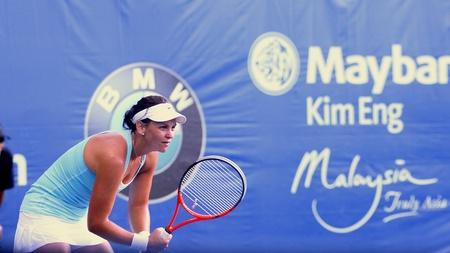 casey: Casey Dellacqua  Australia at BMW Malaysia Open