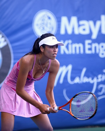 Hsieh Su Wei  Taiwan at BMW Malaysia Open