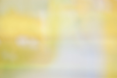 focus on background: blurred soft colorful background in yellow green red orange white Stock Photo