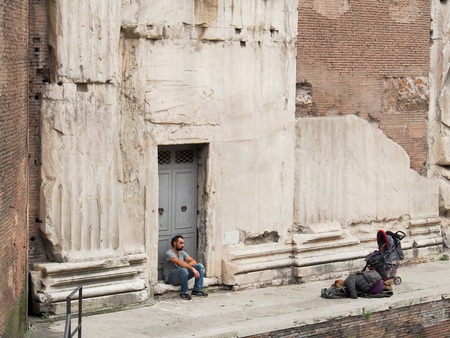 roofless: Homeless on the streets of Rome