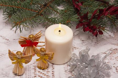 gaud: Christmas ornaments on the Christmas tree
