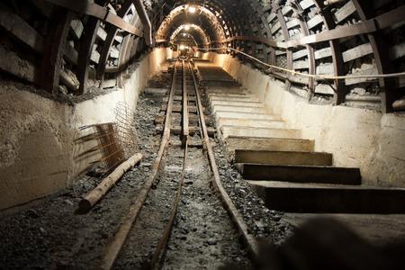explocion: La mina de carbón de túneles subterráneos. Planta minera Guido