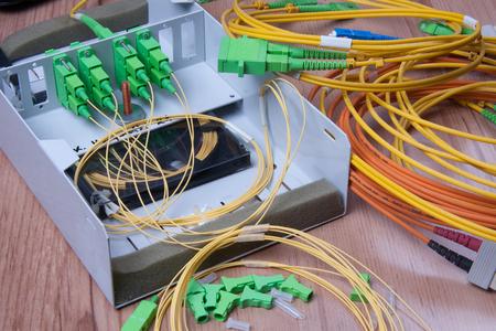 communicatie: Glasvezel apparaat klaar voor packet datatransmissie