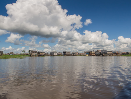 Iquitos, Peru- May 16, 2016: Interesting town on water