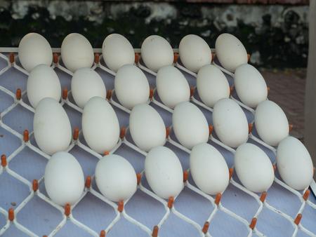 Wulai, Taiwan - October 09, 2016: Eggs on a typical local bazaar in Taiwan Stock fotó