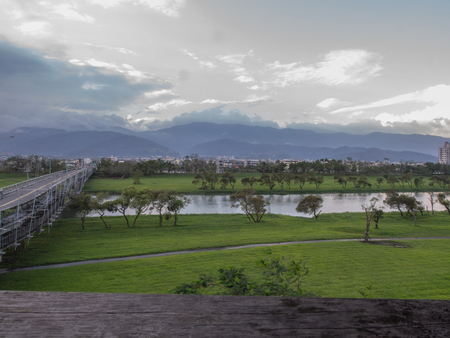 River in Yilan County, northeast Taiwan