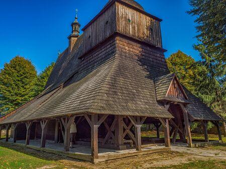 SÄ™kowa, Poland - Aug 22, 2018: Saints Philip and James Church, SÄ™kowa.