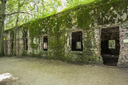 Ketrzyn, Pologne, 25 juillet 2019 Wolf's Lair était le premier quartier général militaire d'Adolf Hitler sur le front de l'Est pendant la Seconde Guerre mondiale. Wolfschanze, Wolfschanze.