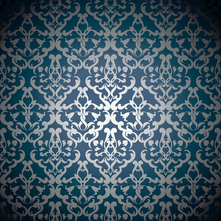Luxury ornamental floral wallpaper Stock fotó - 29808394