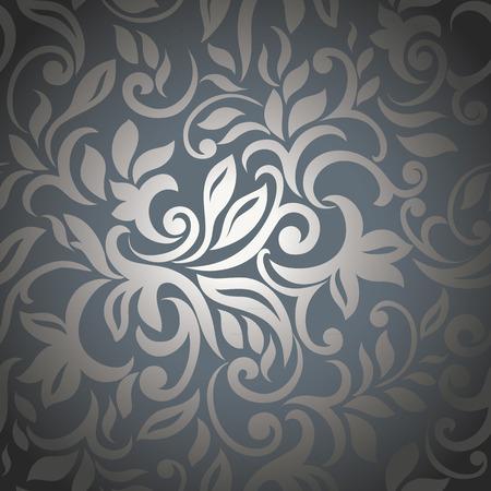 Elegante zilveren abstracte appeltje achtergrond Stock Illustratie