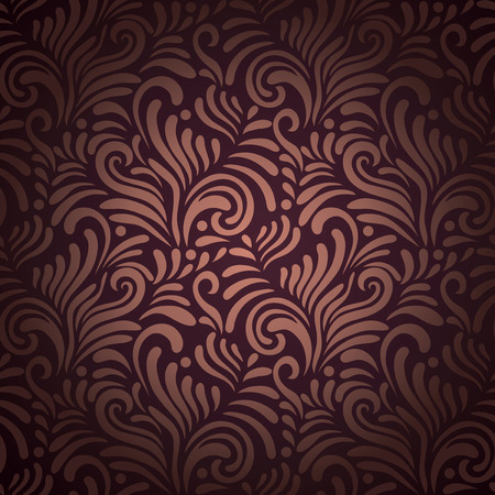 Stylish Modern Abstract background with floral seamless pattern. Vectores
