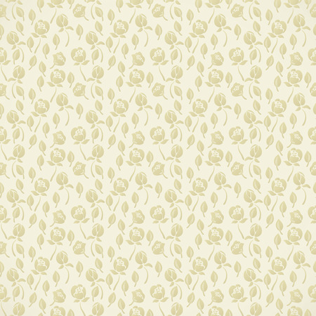 Elegant abstract floral wallpaper. Seamless pattern in beige