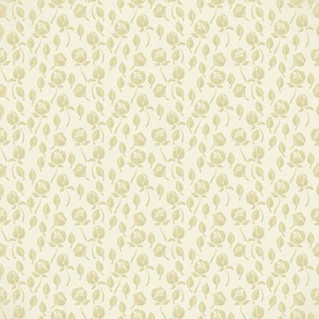 Elegante abstracte bloemen behang. Naadloze patroon in beige