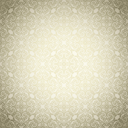Vintage golden background ,Ornamental pattern