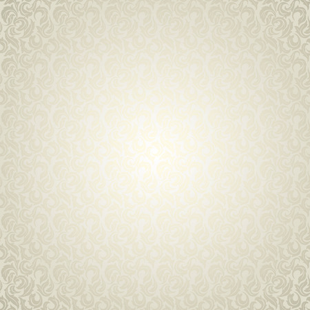 Luxury light floral wallpaper