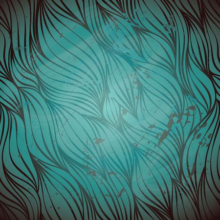 grunge wallpaper: Luxury abstract wave wallpaper, grunge textured design Illustration