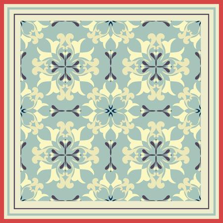 ceramic tiles: Tiles pattern with retro colored ceramic tiles.