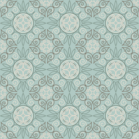 Seamless pattern, tile stylized, Retro