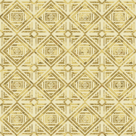 Ornamental pattern illustration in gold Illusztráció