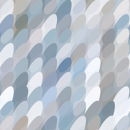 Abstract pastel pattern with tiled ovals