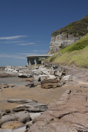 The Pacific Highway is a major transport route along part of the east coast of Australia, with the majority part of Australias national route 1 photo