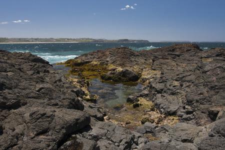 kiama: The Kiama Blowhole is a blowhole in the town of Kiama, New South Wales, Australia.