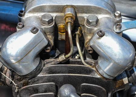 Motor Stockfoto