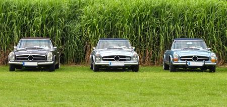 Klassieke auto tentoonstelling