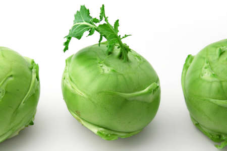 Kohlrabi head photo
