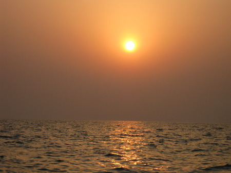 unedited: The sun going to sleep...