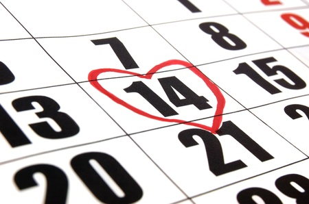 Valentine's day reminder Stock Photo - 17471463