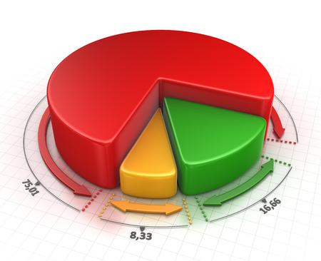 escalation: Business chart Stock Photo