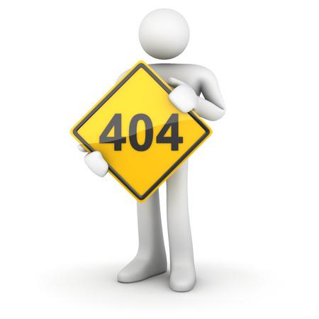 znak drogowy: Znak drogowy 404 Zdjęcie Seryjne