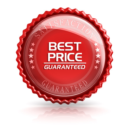 best security: Best Price , 3d rendered image. Stock Photo