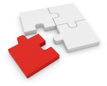 piezas de rompecabezas: Diferente rompecabezas, Esta es una imagen generada por ordenador y 3d prestados.